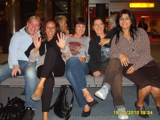 En attendant le départ à Marignane