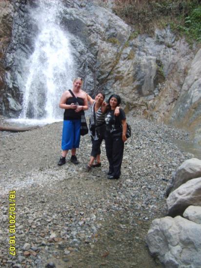 Première cascade à l'Ourika