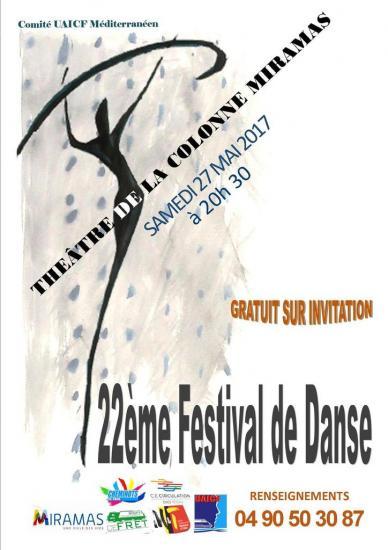 Affiche fest danse 3 miramas