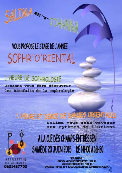 Affiche stage sophroriental 2016