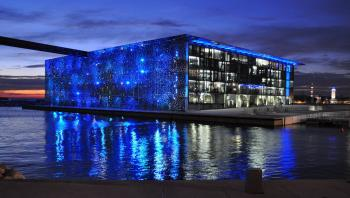 Marseille mucem nuit