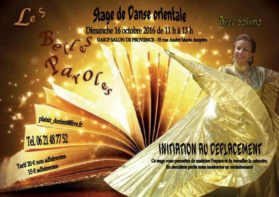 Stage initiation et deplacements 16 10 16