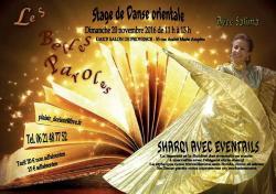 Stage sharqi avec eventails du 20 11 16